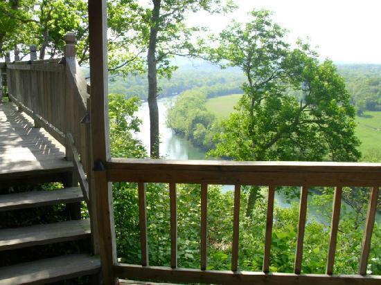 Cameron's Crag Bed & Breakfast: view