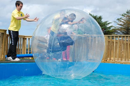 Letterkenny, İrlanda: Rockhill Holiday Park water walkerz