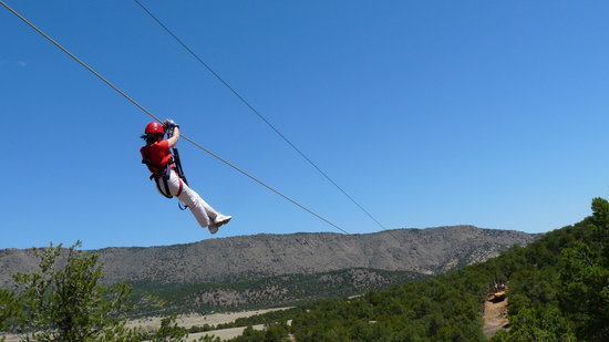 Canon City, CO: www.RoyalGorgeZipLineTours.com
