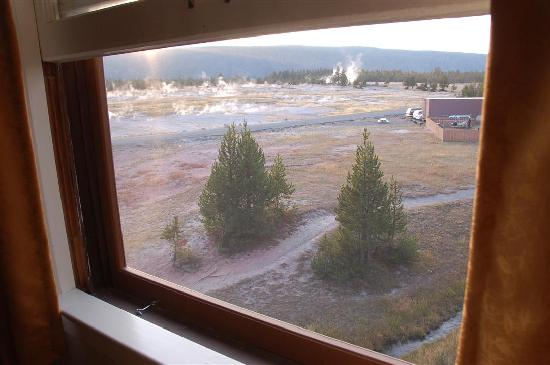 Old Faithful Inn: View from our room