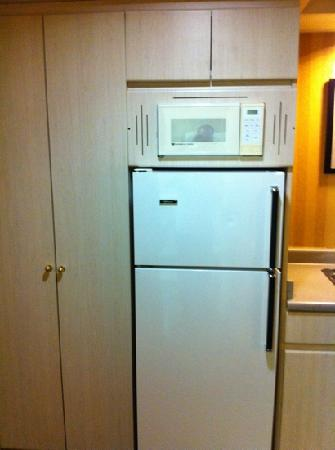 Executive Hotel Burnaby: old kitchen in new room?