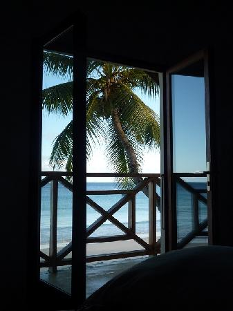 Mahe Island, Seychelles: Vue depuis la chambre