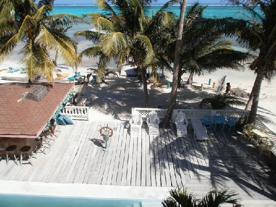 The Tides Beach Resort: View from the top balcony