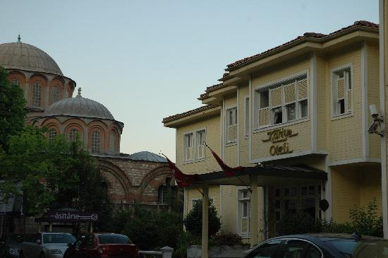Kariye Hotel: the hotel