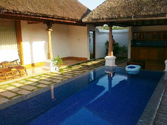 Pool villa this is the best here for Villas in pondicherry with swimming pool