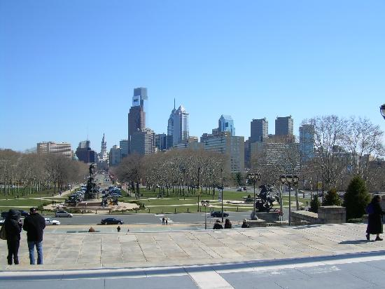 View from Philadelphia Museum of Art