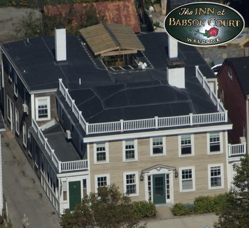 The Inn at Babson Court: Inn at Babson Court Aerial View