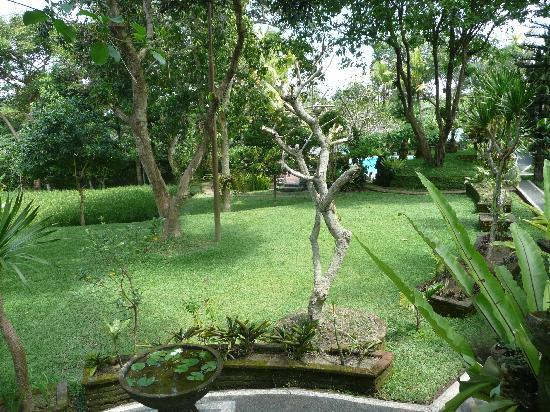 Melati Cottages: In the garden