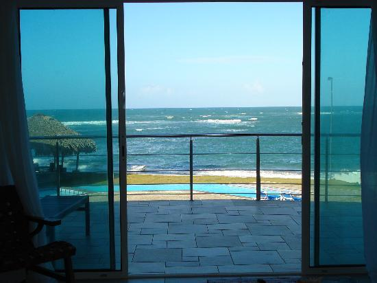 Porta Del Mare: View of the ocean from the liv. room
