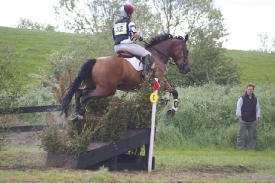 Ballinasloe, Irland: Eventing at Flowerhill