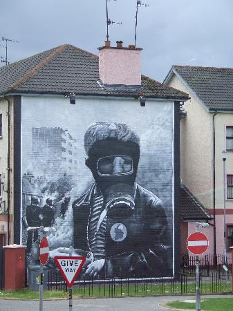 Derry, UK: Wall Mural