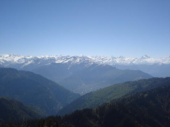 Shimla, India: great view