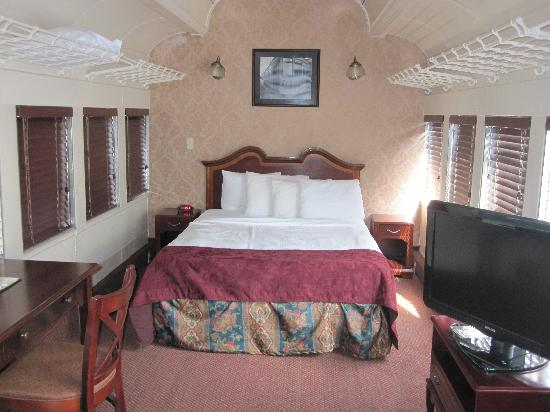 Sleeping Car After We Moved In Picture Of Chattanooga Choo Choo Chattanooga Tripadvisor