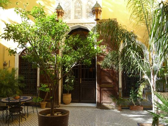 Riad Le Calife: Riad patio
