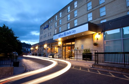   : Exterior of Hilton Bath City