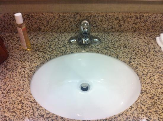 Holiday Inn Express Hotel & Suites Covington: clean nice sink