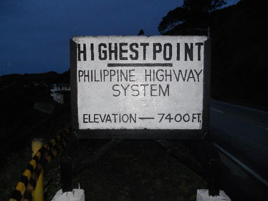 Sagada, Philippines: atoc, highest point