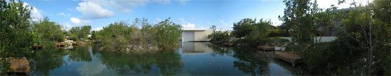 Rosewood Mayakoba: view from our dock