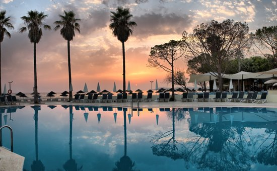 Ephesia Holiday Beach Club: Pool_Sunset