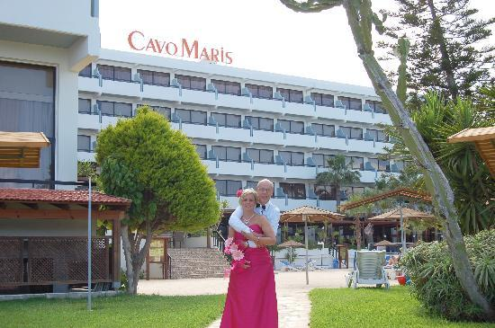 Cavo Maris Beach Hotel: wedding pic