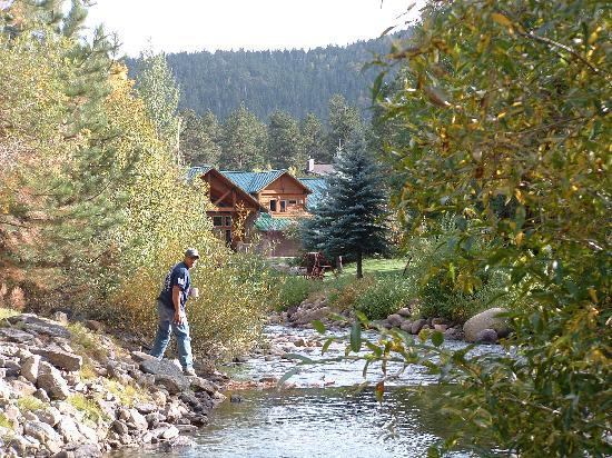 River Stone Resort and Bear Paw Suites: From our patio