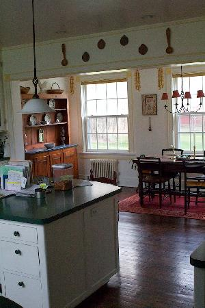 Squire House: Kitchen