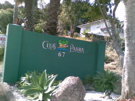 Club Paihia: Entrance