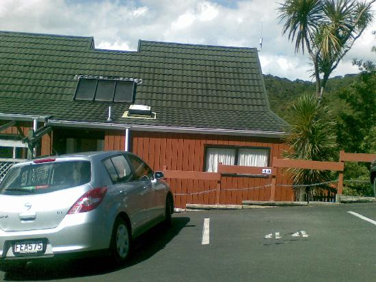 Club Paihia: Front of units