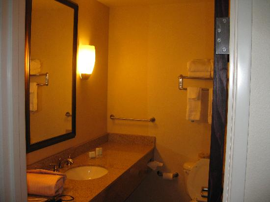 Sleep Inn & Suites Eugene : Bathroom