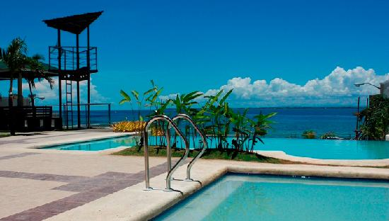 Mactan Island, Filippinerna: pool/beach area