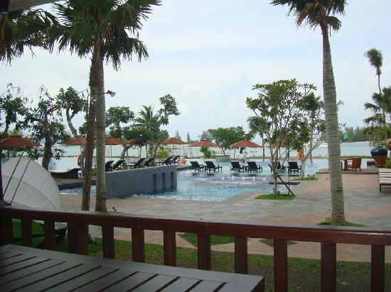 The Danna Langkawi, Malaysia: view from the Plantes