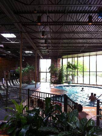 Clarion Inn Michigan City: Inside Pool Area