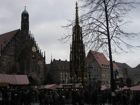 , : Christkindlesmarkt at Hauptmarkt, Nuremberg