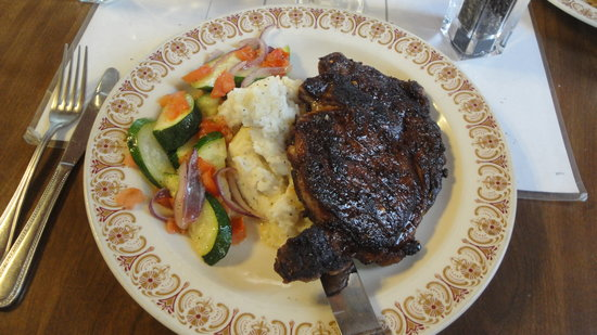Como, CO: Very tasty Blackened Steak