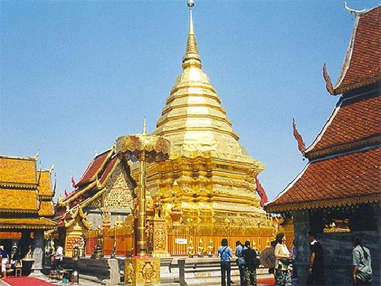 Chiang Mai Province, Thailand: Wat Pra Taht Doi Suthep, Chiang Mai