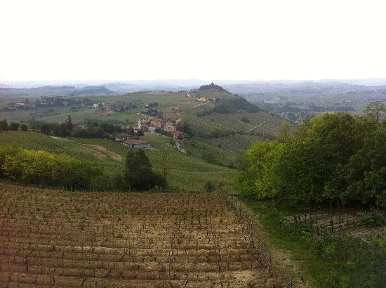 Asti, Italy: View from the patio late afternoon-priceless!