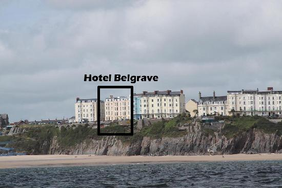 The Belgrave Hotel: Stunning location