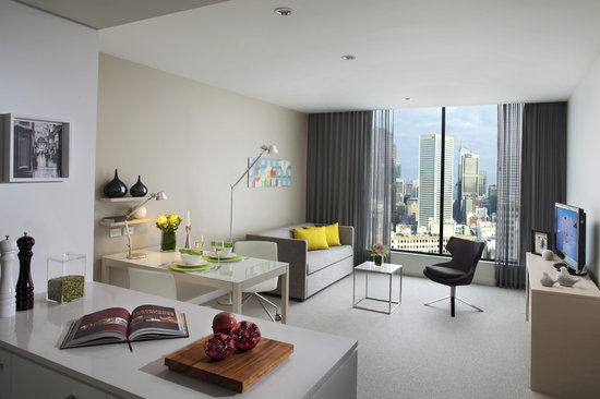 Citadines on Bourke Melbourne: One Bedroom Apartment