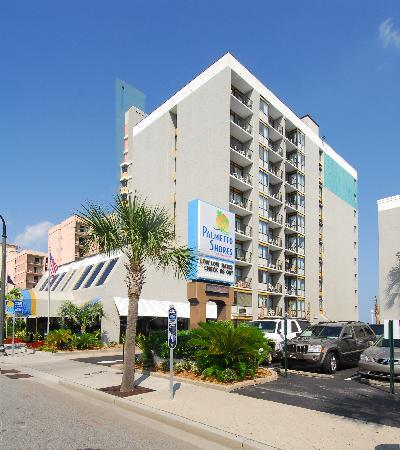 Palmetto Shores Oceanfront: building