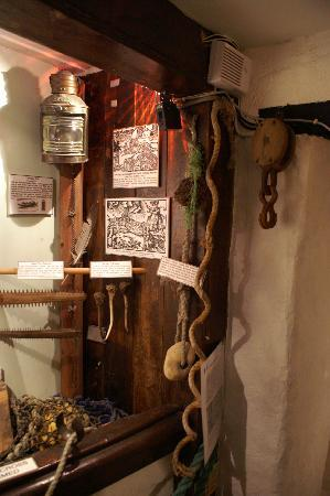 Boscastle, UK: Exhibits