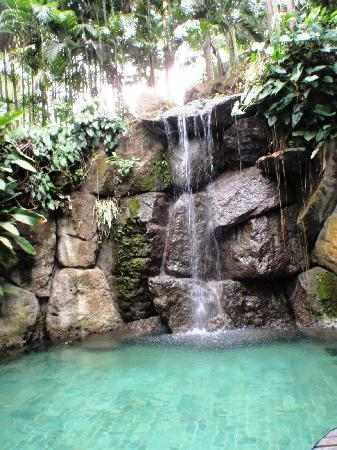 Lipa City, Filippinene: Small pool with waterfalls