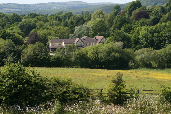 The Dartmoor Lodge: View from the hill