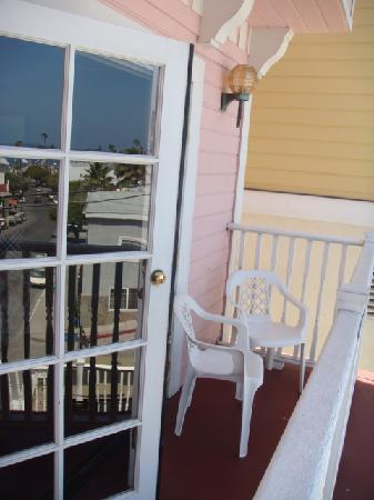 Hotel St. Lauren: The balcony