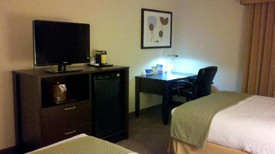 Holiday Inn St Paul Downtown: Flatscreen t.v., free wi-fi in the room