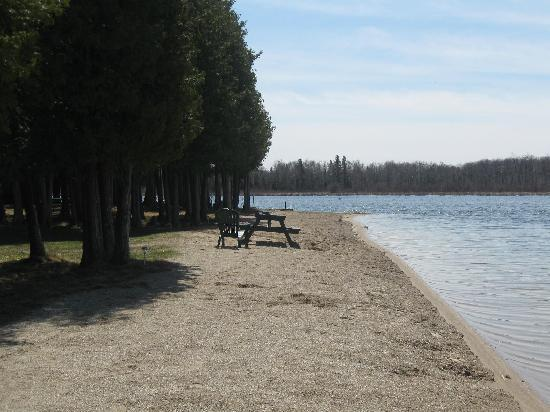 Flesherton, Canada: Beautiful beachfront