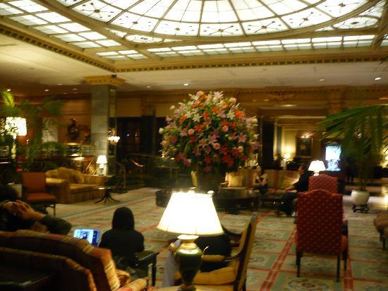 InterContinental New York Barclay : lobby impresionante 