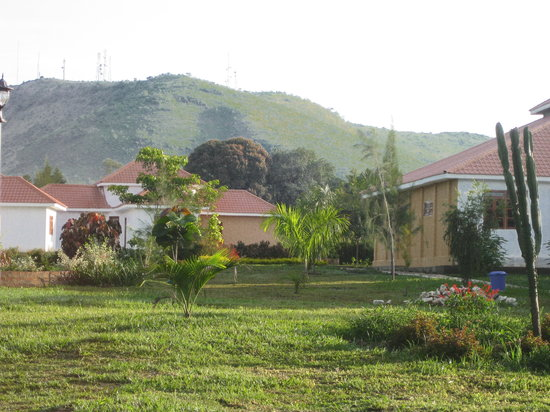 Masindi, : Rear View of Kabalega Resort