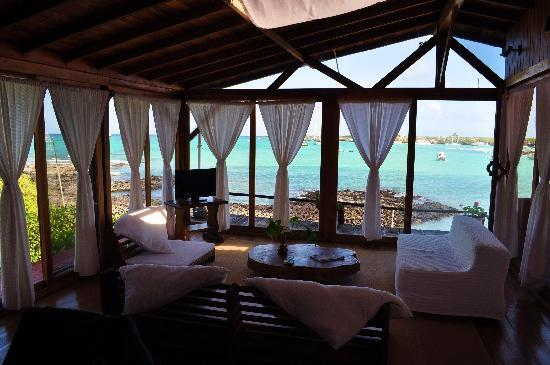 "Пуэрто-Айора, Эквадор: ""Suite Mayor"" at Aventura Lodge - amazing view, breeze, and ocean sounds"
