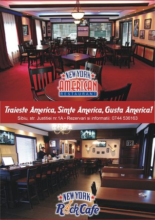 New york american restaurant rock cafe sibiu sibiu for American cuisine nyc