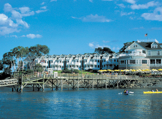 The Bar Harbor Inn, Bar Harbor Maine